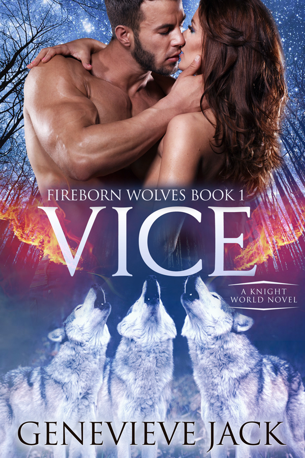Vice - Fireborn Wolves, Book 1 - by Genevieve Jack
