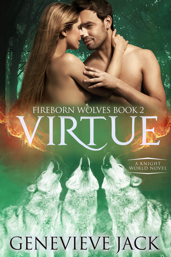 Virtue - Fireborn Wolves, Book 2 - by Genevieve Jack