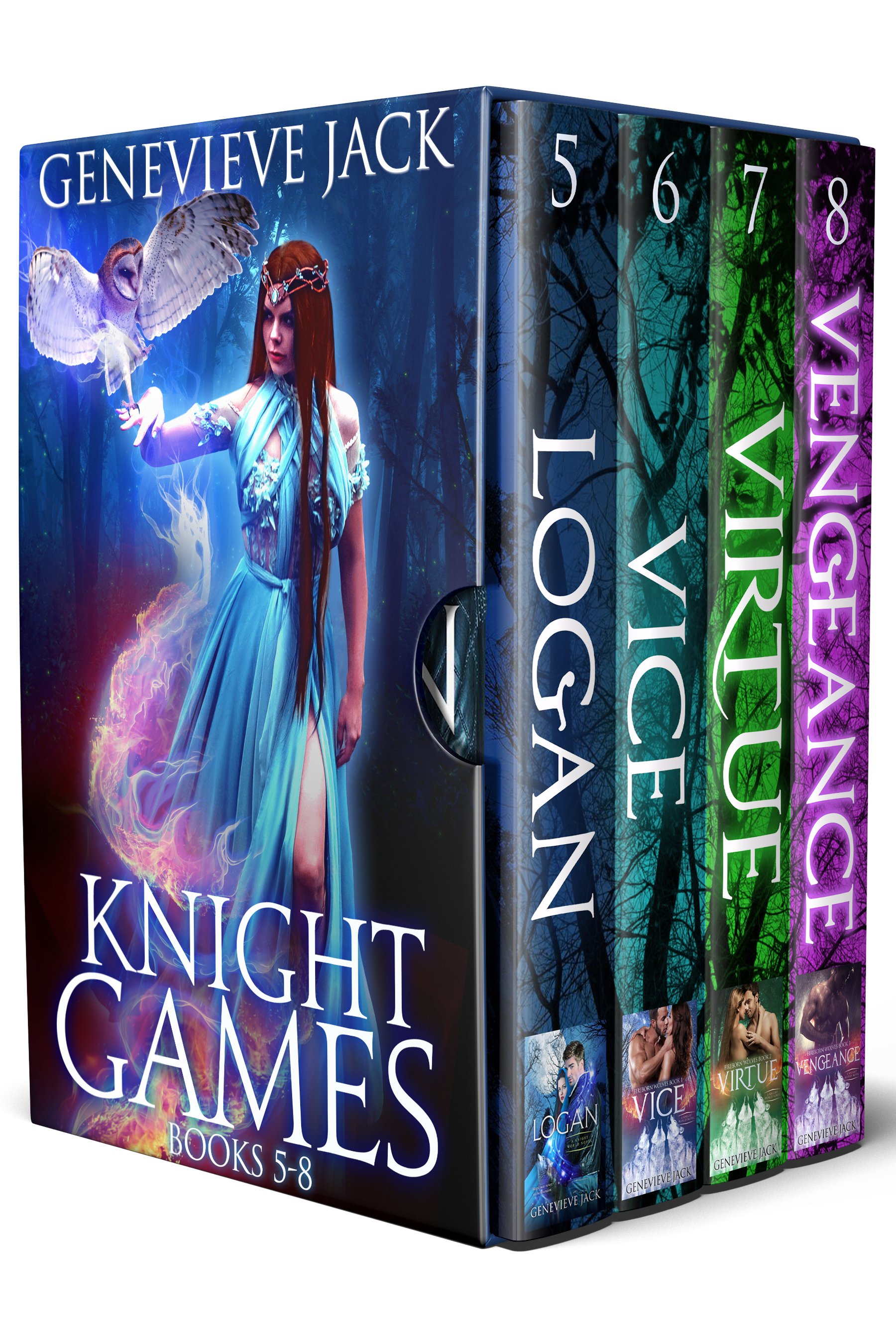Knight Games Books 5-8
