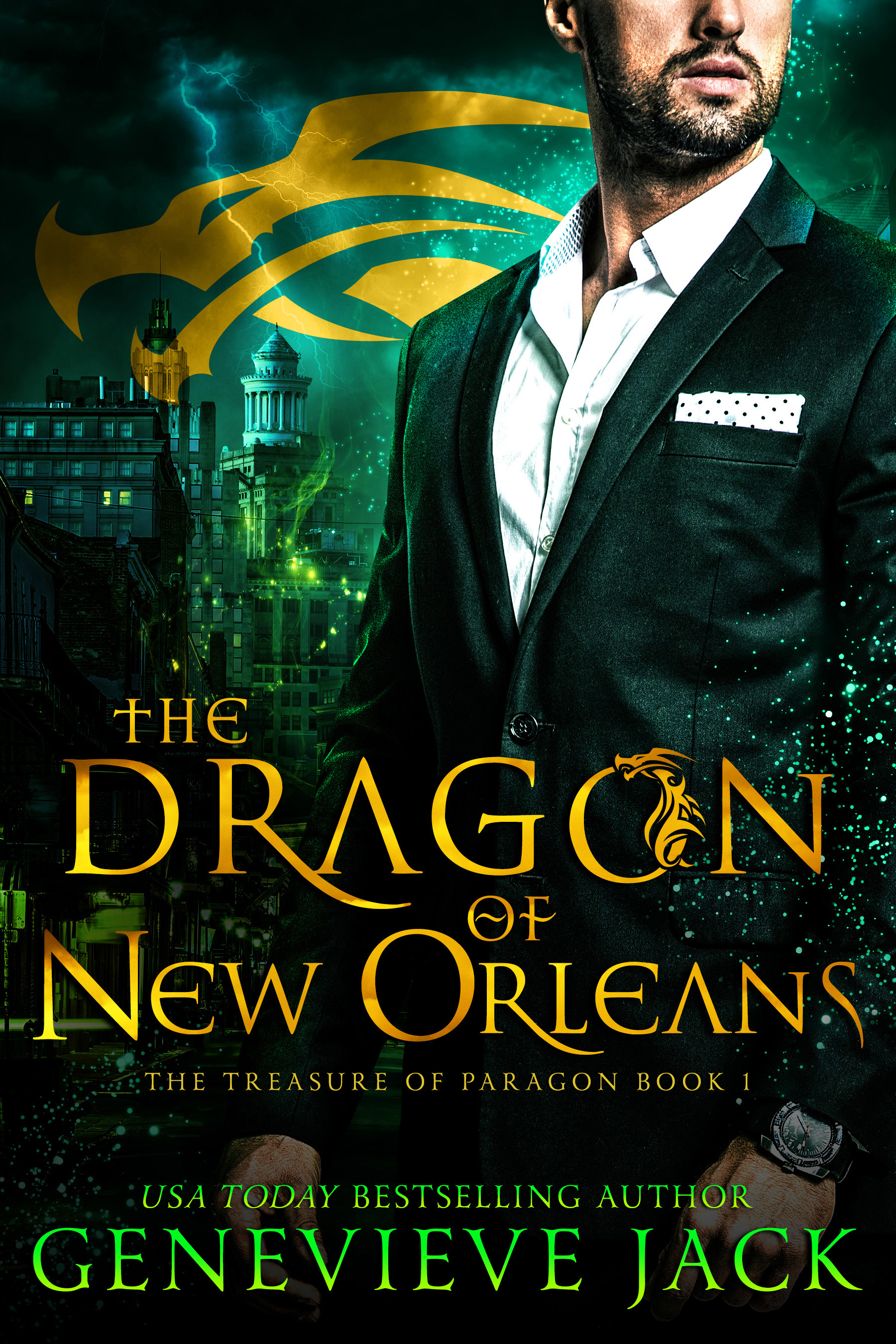 The Dragon of New Orleans - by Genevieve Jack