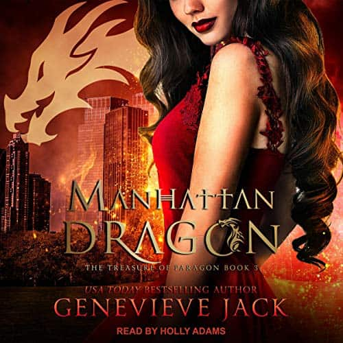 Audiobook cover for Manhattan Dragon (audiobook) by Genevieve Jack