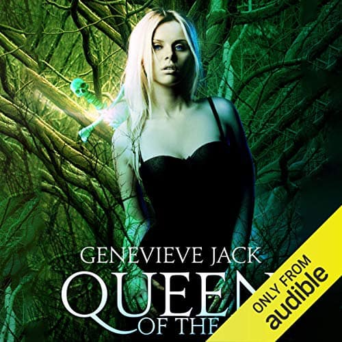 Audiobook cover for Queen of the Hill (audiobook) by Genevieve Jack