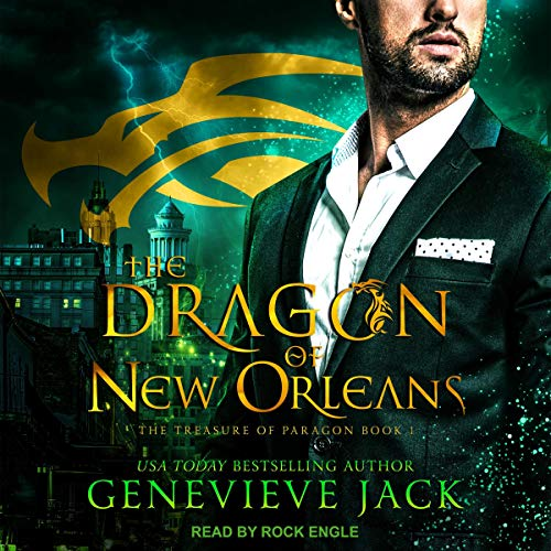 Audiobook cover for The Dragon of New Orleans (audiobook) by Genevieve Jack