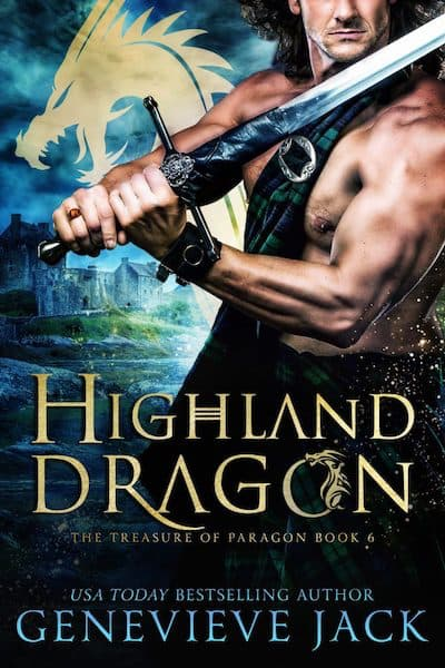 Book cover for Highland Dragon by Genevieve Jack