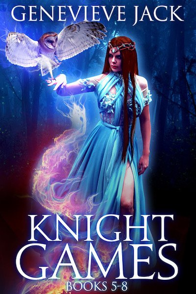 Book cover for Knight Games Omnibus II by Genevieve Jack