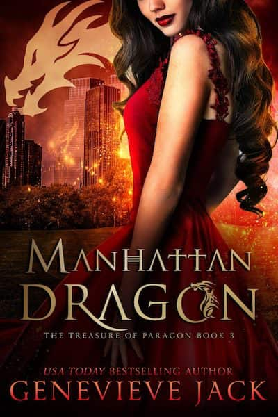 Book cover for Manhattan Dragon by Genevieve Jack