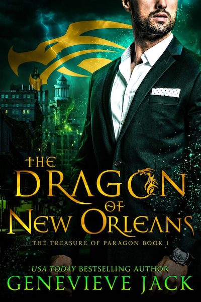 Book cover for The Dragon of New Orleans by Genevieve Jack
