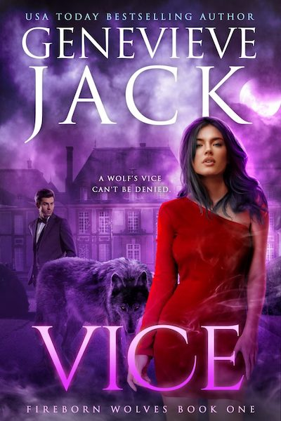 Book cover for Vice by Genevieve Jack