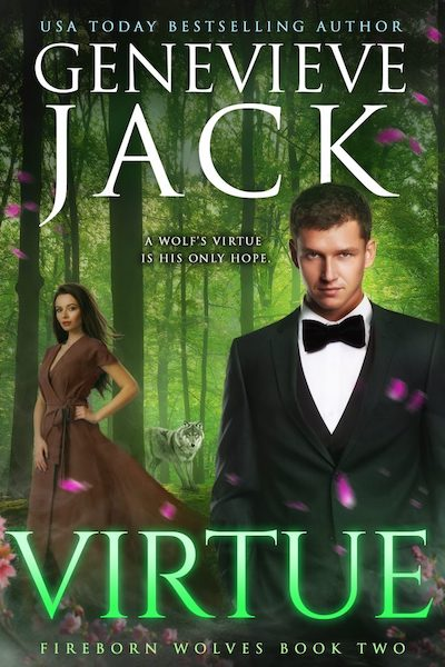 Book cover for Virtue by Genevieve Jack