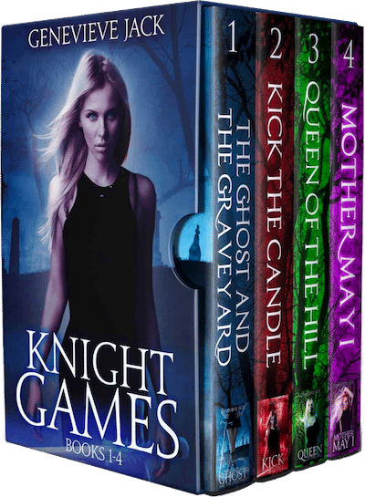 Book cover for Knight Games Omnibus by Genevieve Jack